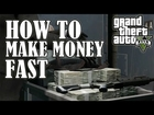 GTA 5 - How To Make REALLY FAST Easy Money! ($4500 in twenty seconds)