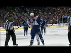 Hal Gill vs Rick Rypien Oct 7, 2009