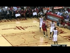 Asik scores on own basket & makes up for it on offense!