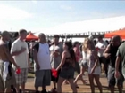 Preakness Fight. in the Infield