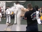 Double Kick Fail - Breaking Boards Tae Kwon Do