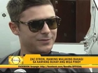 Zac Efron wants to try Bicol delicacies