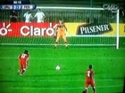 Gol de Cristian Benavente - Perú vs Uruguay 3-3 Sudamericano Sub-20 Argentina 2013 (10/01/2013)