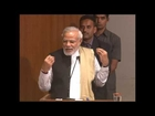 Shri Narendra Modi addressing Global Health Summit, 2014 organised by AAPI at AMA HD