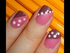 Back to School Nail Tutorial: Easy Polka Dots