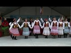 Folk Dance Group WAWEL perform a Polish dance Mazur at Dozynki Harvest Festival in Houston