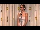 Jennifer Lawrence wins best actress Oscars 2013