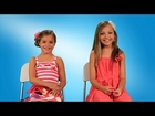Dance Moms' Chloe Lukasiak and Maddie and Mackenzie Ziegler talk Justin Bieber!