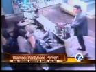 Man wearing pantyhose flashes women