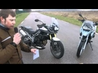 Match vidéo Triumph Tiger 800 vs BMW F650GS vs Yamaha Fazer8, par Moto-Station.com