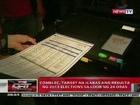 QRT:  Comelec, target na ilabas ang resulta ng 2013 Elections sa loob ng 24 oras