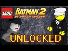LEGO Batman 2 DC Superheroes - How to Unlock Policeman & Mime-GOON