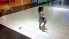 Kid Loses Diaper at Shopping Mall
