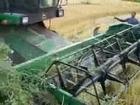 john deere 1174 S II rice harvesting