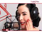 DITA VON TEESE EN INTERVIEW CHEZ  RADIO FG