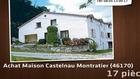 Vente - maison - Castelnau Montratier (46170)  - 40 000m²
