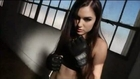 Sasha Grey fight training